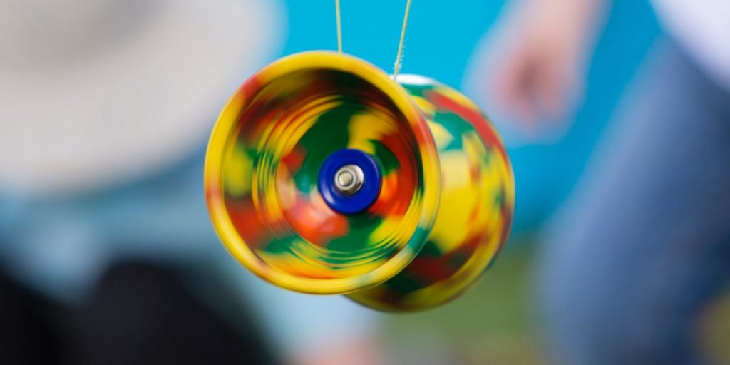 Spinning diabolo
