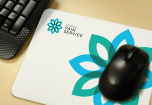 London Pain Service mouse mat