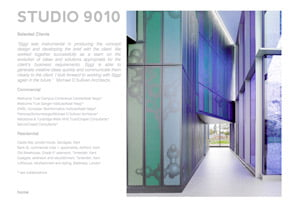 Studio 9010 website page by Maroon Balloon