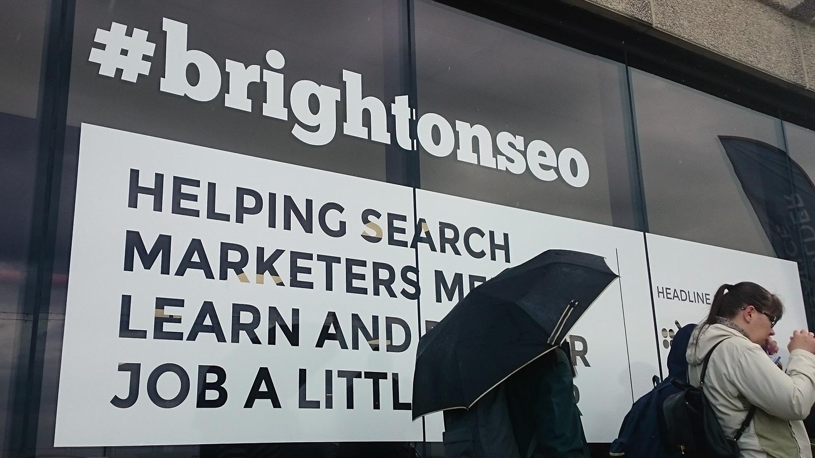 #brightonSEO conference helping search marketers learn