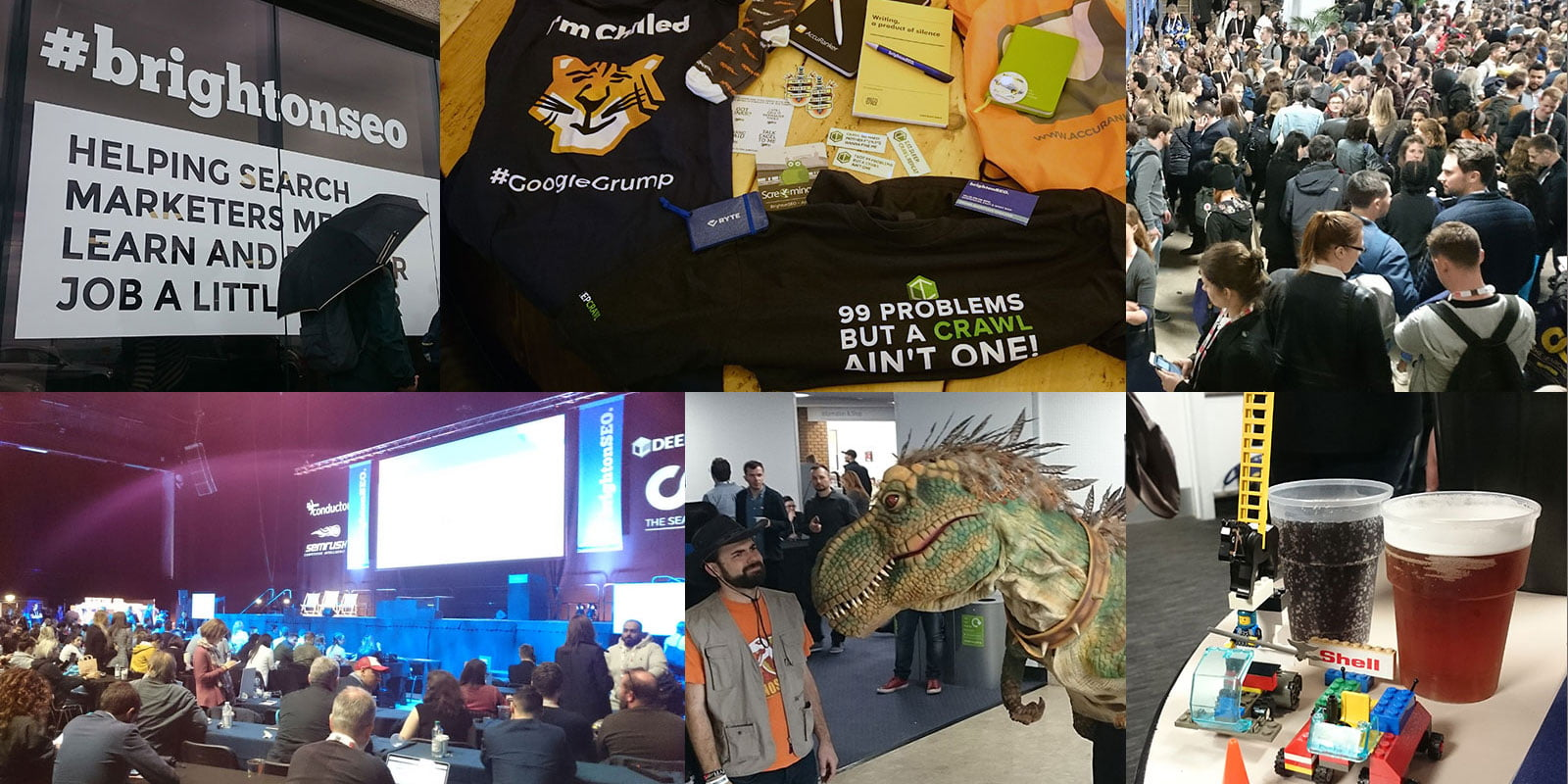 SEO, lego, free beer and dinosaurs!