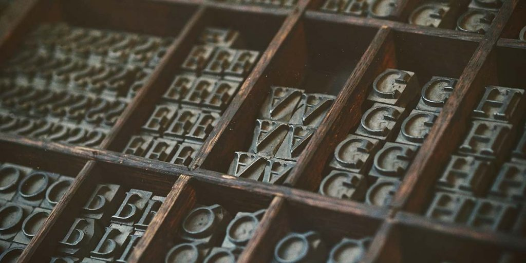 Typesetting blocks